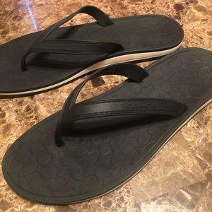 Coach flip flop sandal